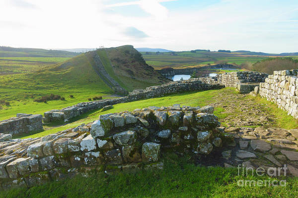 Hadrians Wall Photograph - Milecastle 42 Near Cawfield On Hadrians Wall In Northumberland by Louise Heusinkveld