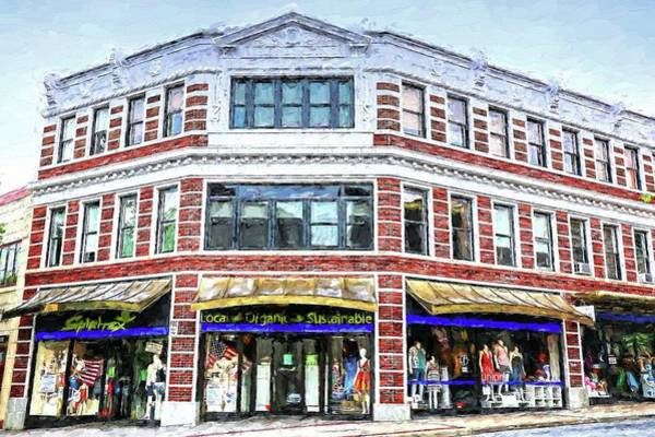 Photograph - Miles Building Asheville North Carolina  by Carol Montoya
