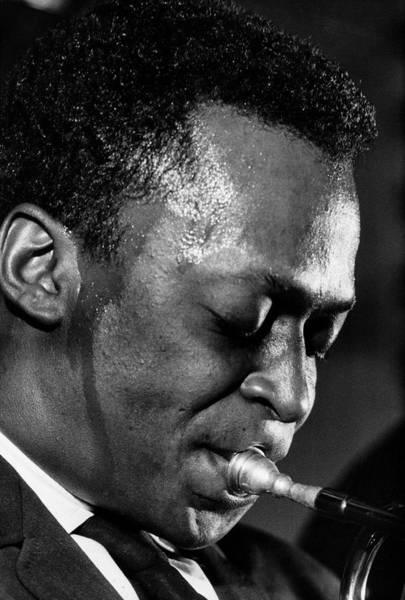 Photograph - Miles Davis by Robert W. Kelley