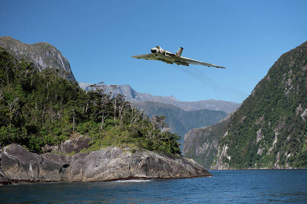 Photograph - Milford Sound Vulcan by Gary Eason