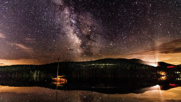 Photograph - Milky Way And Uprr by Jack Peterson