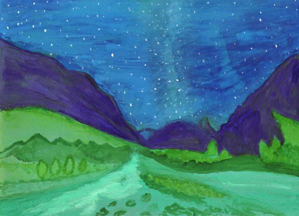 Painting - Milky Way by Irina Dobrotsvet