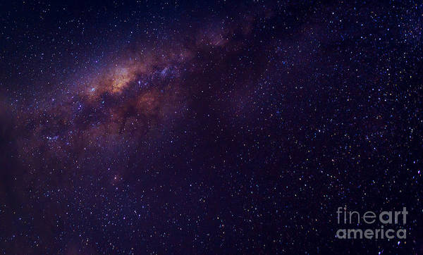 Wall Art - Photograph - Milky Way Galaxy With Stars And Space by Avigator Fortuner