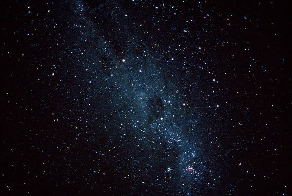 Exploration Photograph - Milky Way In Night Sky by Kim Westerskov