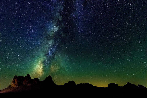 Photograph - Milky Way In The Mojave Desert by Bryant Coffey