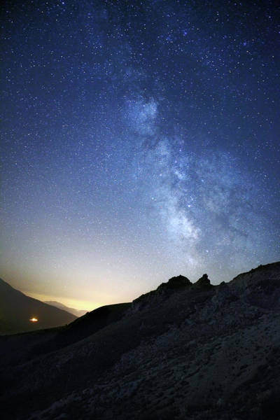 Sunlight Photograph - Milky Way by Manuelo Bececco Global Nature Photographer