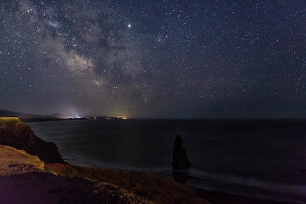 Photograph - Milky Way Over Cape Blanco by Belinda Greb