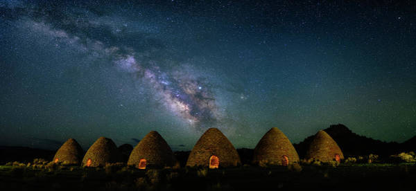 Photograph - Milky Way Over Charcoal Ovens by Michael Ash