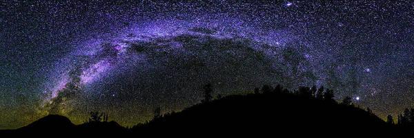 Colorado Photograph - Milky Way Over Colorado Country by Photo By Matt Payne Of Durango, Colorado