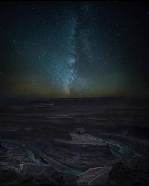 Photograph - Milky Way Over Dead Horse Point by David Morefield