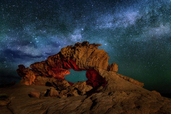 Photograph - Milky Way Over The Dragon by Michael Ash
