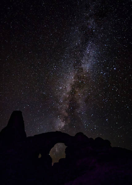 Photograph - Milky Way Over The Windows by David Morefield