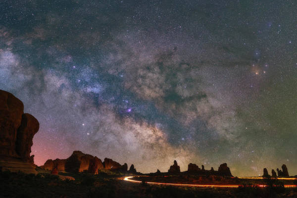 Wall Art - Photograph - Milky Way Ride by Darren White