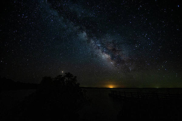 Photograph - Milkyway Rising. by Pete Federico