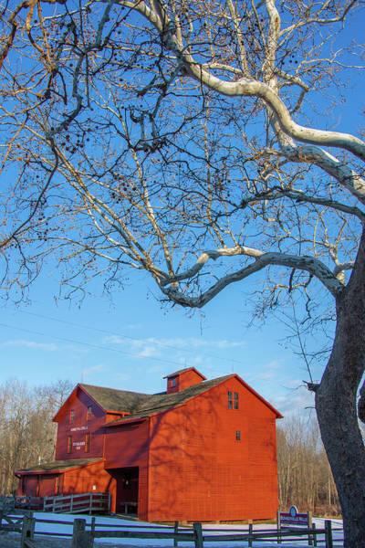 Bonneyville Mill Wall Art - Photograph - Mill And Tree by Jason Champaigne