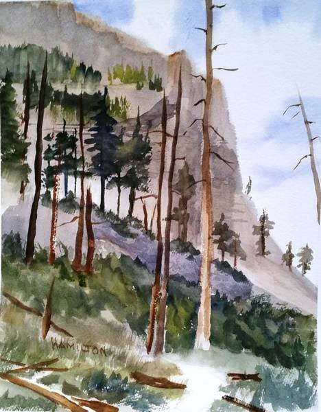 Painting - Mill Creek Canyon by Larry Hamilton