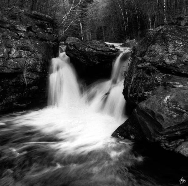 Photograph - Mill Falls Monochrome by Wayne King
