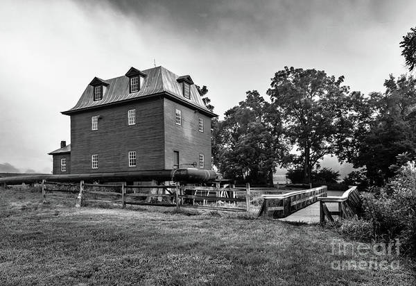 Wall Art - Photograph - Old Mill In Fog by Norma Brandsberg