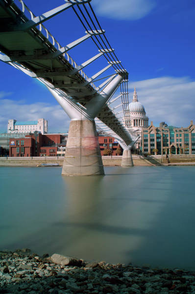 Christianity Photograph - Millenium Bridge by Gavin Parsons