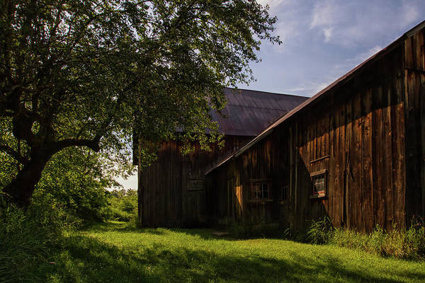 Wall Art - Photograph - Miller Barn 1 by Heather Kenward
