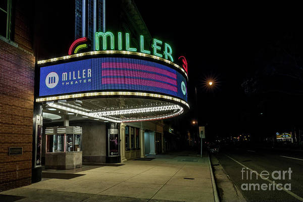 Photograph - Miller Theater Augusta Ga 2 by Sanjeev Singhal
