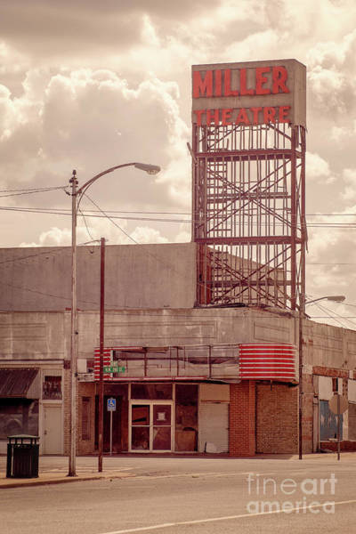 Photograph - Miller Theatre by Imagery by Charly