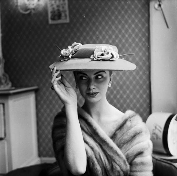 The Past Photograph - Millinery Delight by John Firth