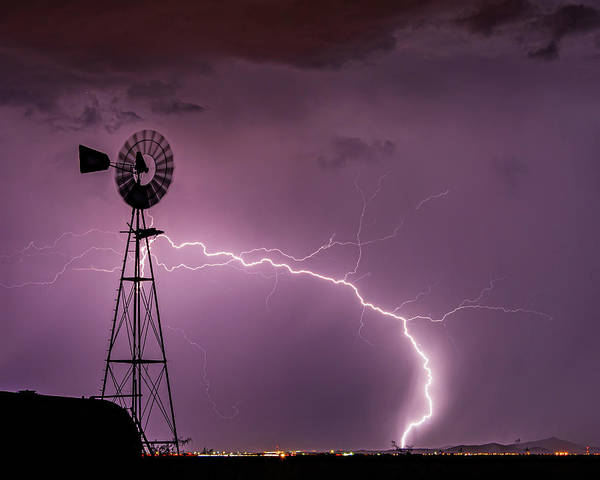 Photograph - Milling The Lightning by Laura Hedien
