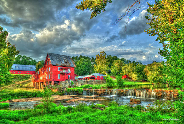 Wall Art - Photograph - Millmore Grist Mill Hancock County Georgia Scenic Landscape Art by Reid Callaway