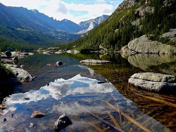 Photograph - Mills Lake by Dan Miller
