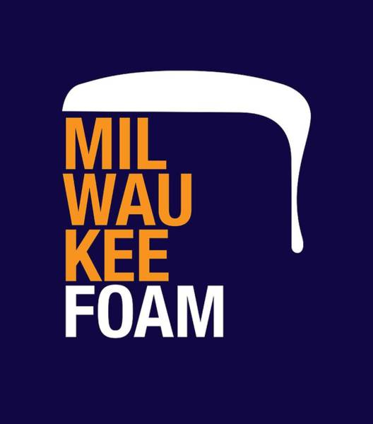 Wall Art - Digital Art - Milwaukee Foam by Geoff Strehlow
