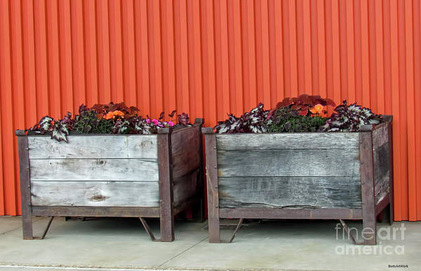 Photograph - Milwaukee Modern And Rustic With Flowers by Roberta Byram