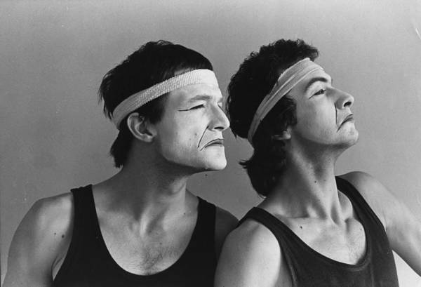 Headband Photograph - Mime Show by Evening Standard