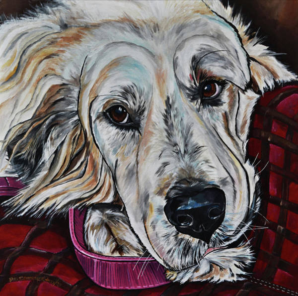 Painting - Mimi by Patti Schermerhorn