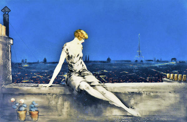Wall Art - Painting - Mimi Pinson - Digital Remastered Edition by Louis Icart