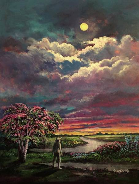 Painting - Mimosa Memories by Randy Burns