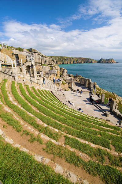 Headlands Photograph - Minack Open Air Theatre, Cornwall by Ben Pipe Photography