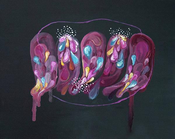 Painting - Mind #08 by Natsumi Yamaguchi