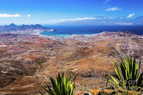 Photograph - Mindelo, Sao Vincente, Cape Verde by Lyl Dil Creations