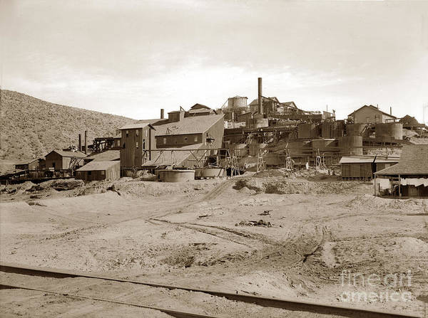 Photograph - Gold Mine At Barstow Circa 1912 by California Views Archives Mr Pat Hathaway Archives