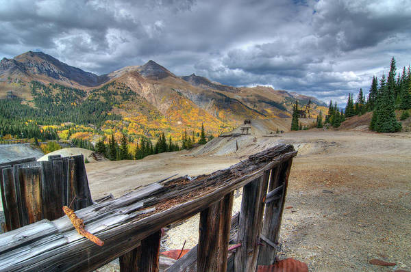 Photograph - Mine With A View by Steve Stuller