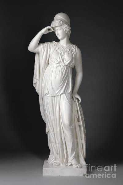 Wall Art - Sculpture - Minerva, 1775, Marble by Joseph Francis Nollekens