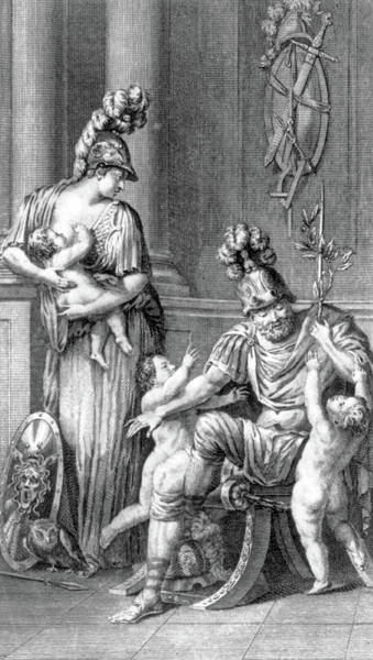 Wall Art - Photograph - Minerva Breastfeeding, Roman Goddess by Science Source