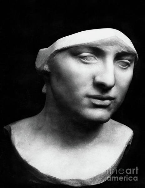 Wall Art - Sculpture - Minerva Without Helmet, 1896 by Rodin