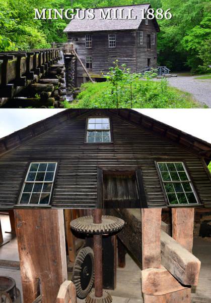 Mingus Mill Photograph - Mingus Mill 1886 by David Lee Thompson