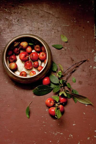 Healthy Eating Photograph - Mini Apples by Adél Békefi