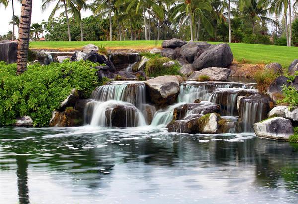 Photograph - Mini Waterfall by Anthony Jones