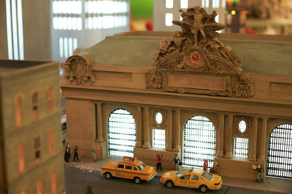 Scale Photograph - Miniature Scale Model Of Grand Central by Jason Todd