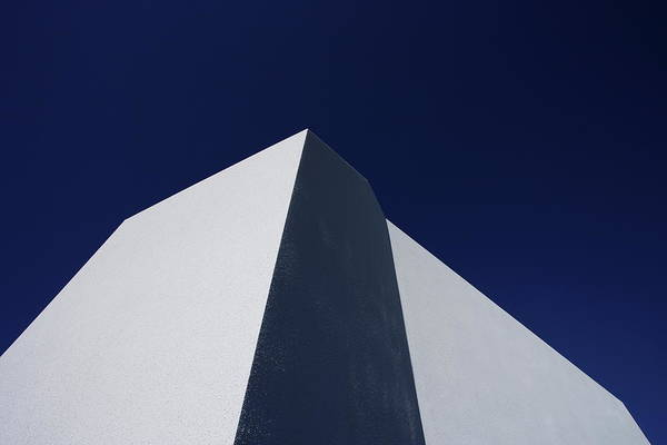 Photograph - Minimal Architecture,blue Sky Background by Sot