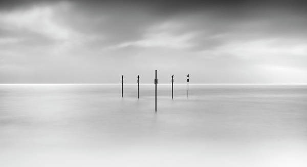 Storm Photograph - Minimal Posts Are Arranged by Doug Chinnery